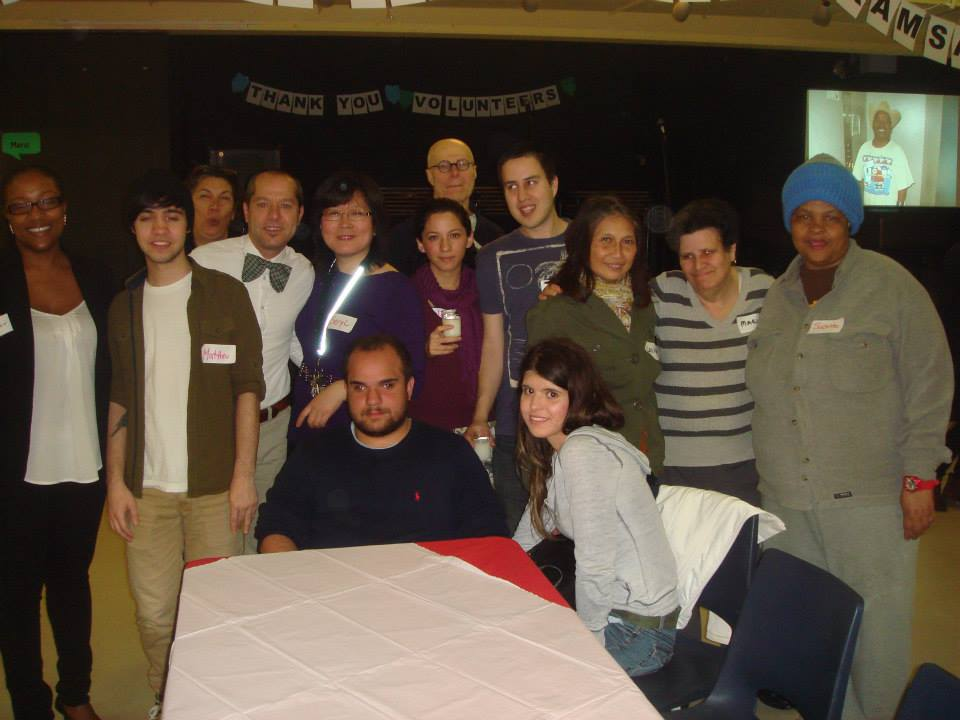 Group at Volunteer Recognition party 2014