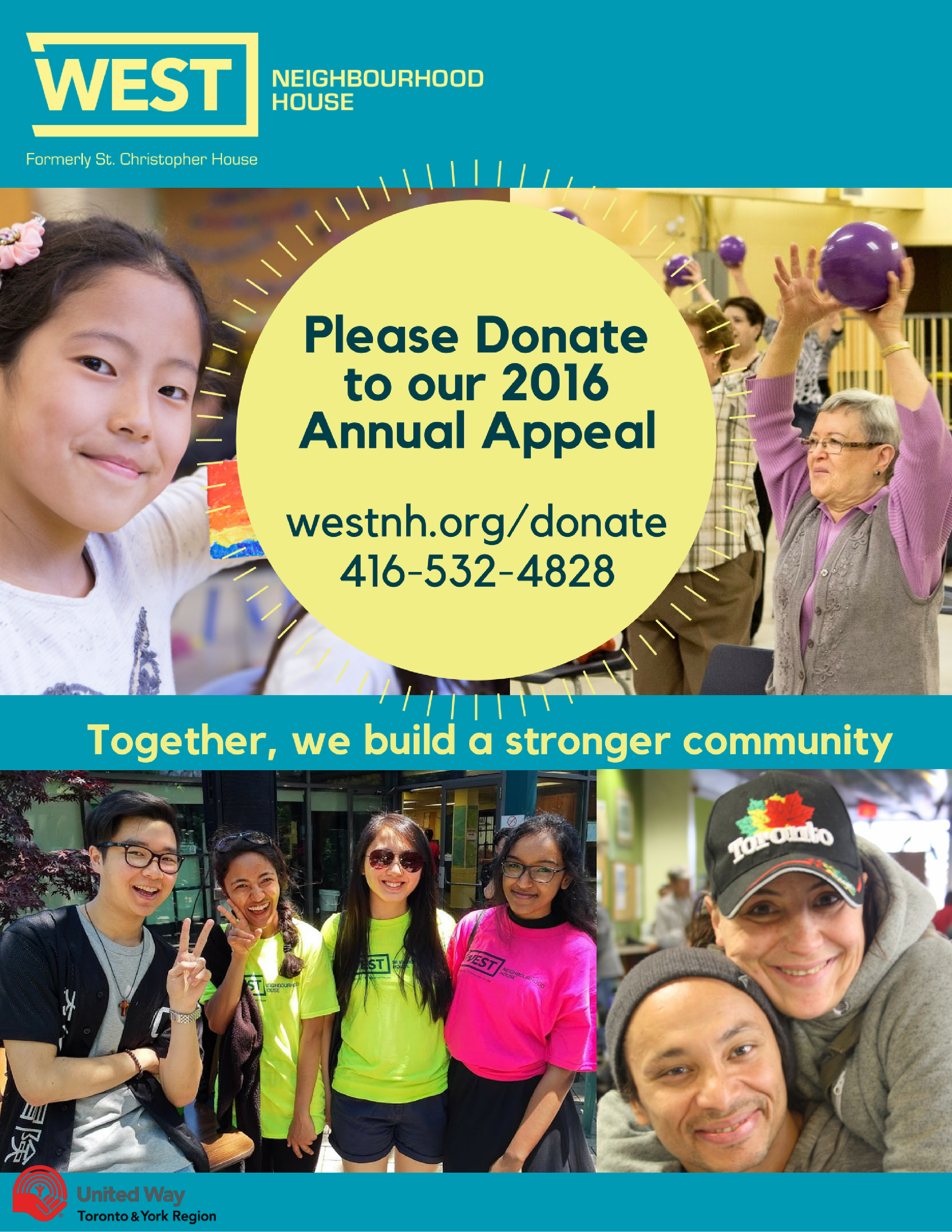 Please Give to our 2016 Annual Appeal