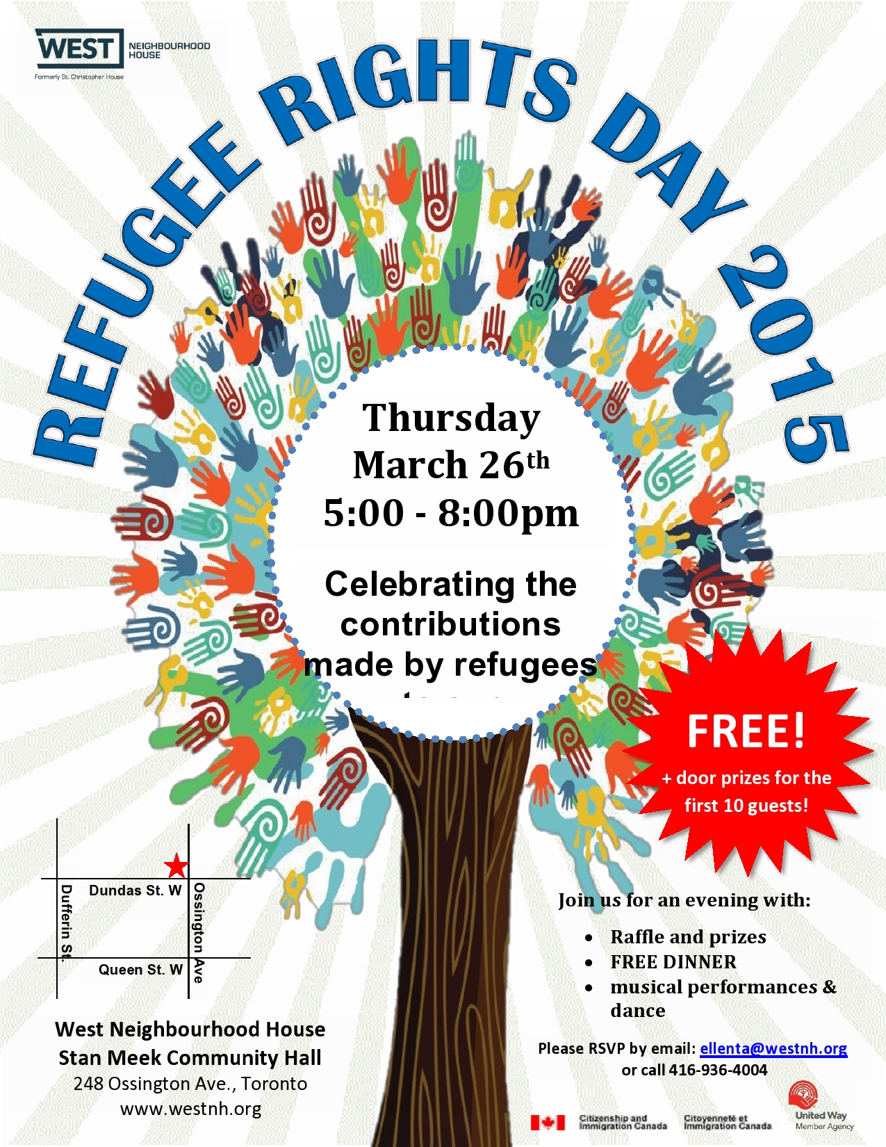 Refugee Rights Day Flyer 2015