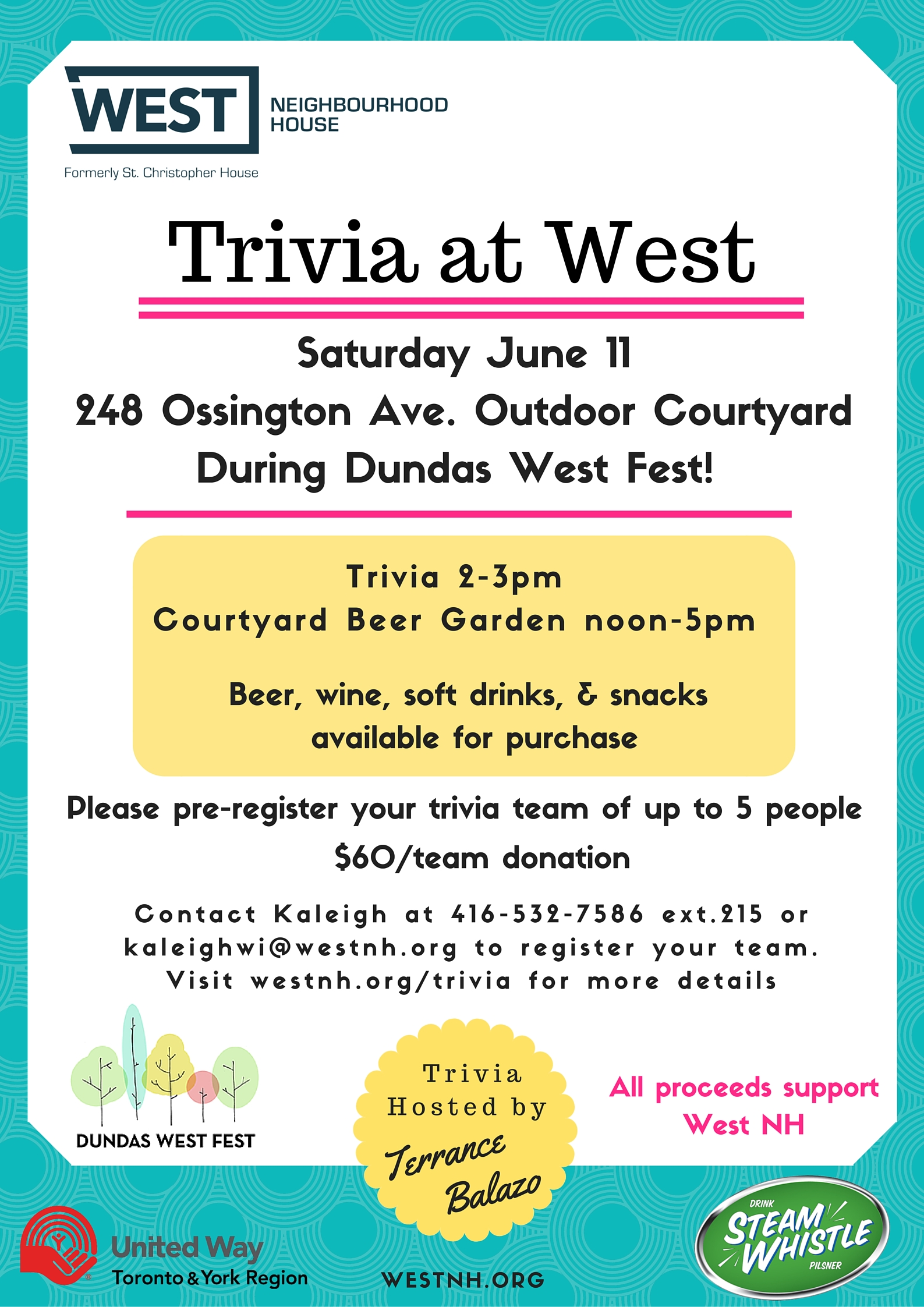 Trivia at West on June 11th