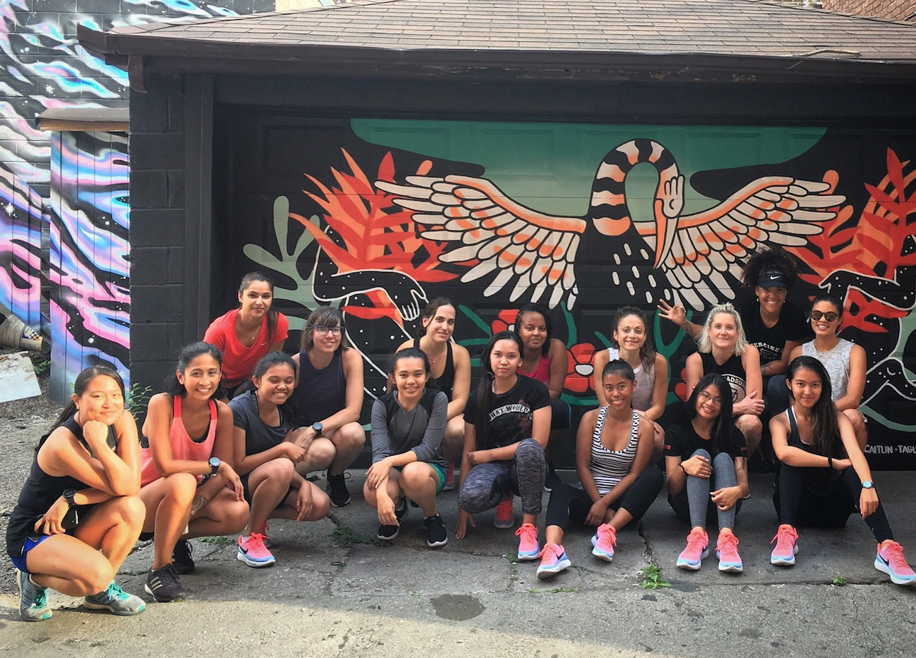 Sponsor our Newcomer Youth Girls' Running Group!