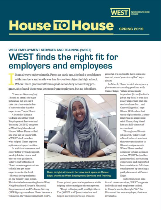 Spring 2019 House to House Newsletter