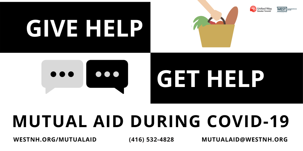Get help from a mutual aid volunteer