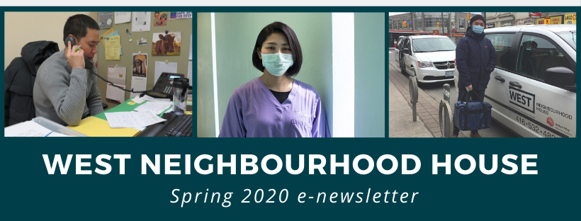 Still going strong: Spring 2020 news from West Neighbourhood House