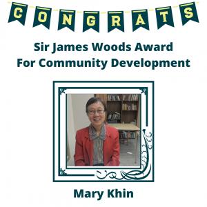 congratulations Mary Khin