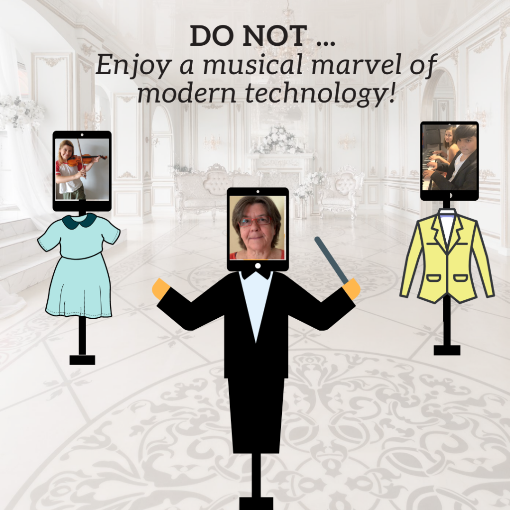 Do not .. enjoy a musical marvel of modern technology