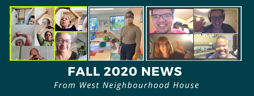 Fall-ing into a new normal: Autumn news from West Neighbourhood House