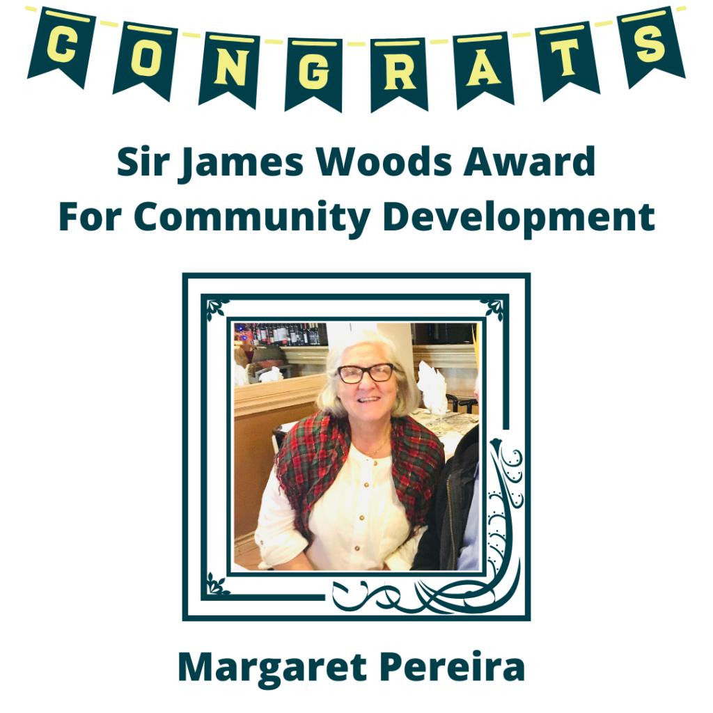 2020 Award Recipient Margaret Pereira